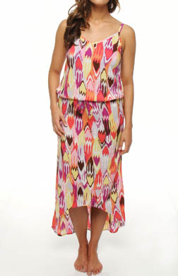 PJ Salvage Ideal Ikat Dress