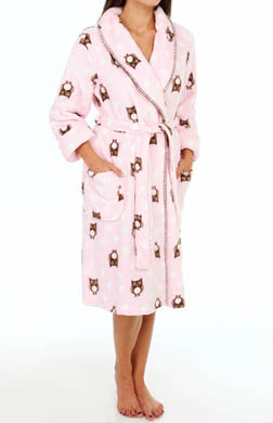 PJ Salvage Printed Owl Robe