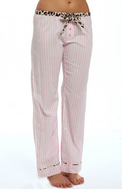 PJ Salvage Giftables Pink Stripe Pant