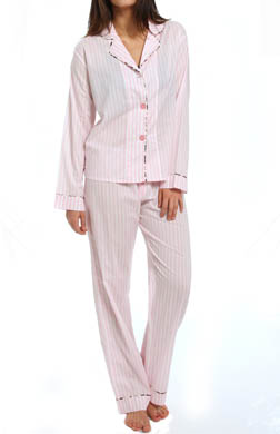 PJ Salvage Giftables Pink Stripe Pj Set