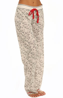 PJ Salvage Love Struck Crossbone Pant