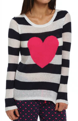 PJ Salvage Queen of Hearts Heart Sweater