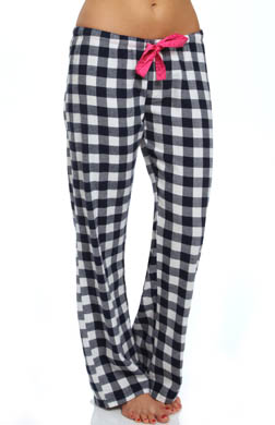 PJ Salvage Queen of Hearts Plaid Pant