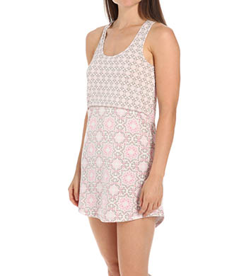 PJ Salvage Print Princess Chemise
