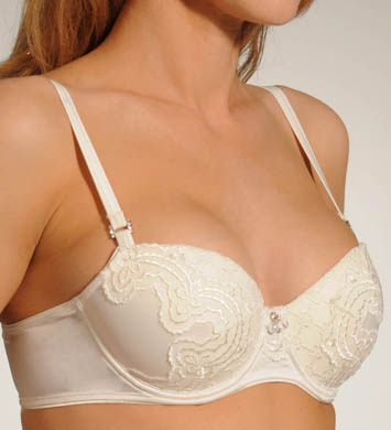 Pleasure State White Label Hidden Veil Balconnet Contour Bra