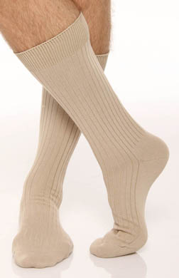 Polo Ralph Lauren Classic Solid Rib Pima Cotton Sock