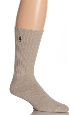 Polo Ralph Lauren Cotton Crew Sock with Polo Embroidery