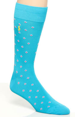 Polo Ralph Lauren Mercerized Cotton Diamond Socks