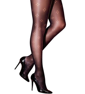 Pretty Polly Curves Diamond Tights