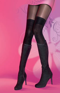 Pretty Polly Secret Over The Knee Sock Tights