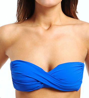 Profile by Gottex Tutti-Frutti Soft Cup Bandeau Swim Top
