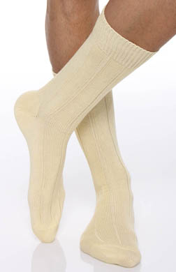 Punto Egyptian Soft Cotton Ribbed Anklet