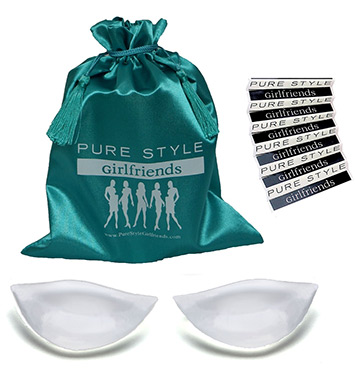 Pure Style Girlfriends Bump & Jump-a-Cup Push Up + Full Cup Bra Insert
