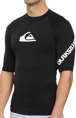 Quiksilver All Time Short Sleeve Rash Guard