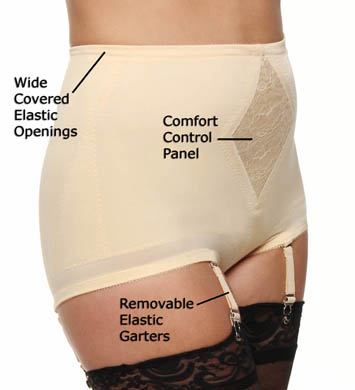 Rago Diet Minded Satin 'n Smooth Panty Girdle