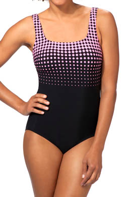Reebok Dots to Diamonds One Piece Swimsuit