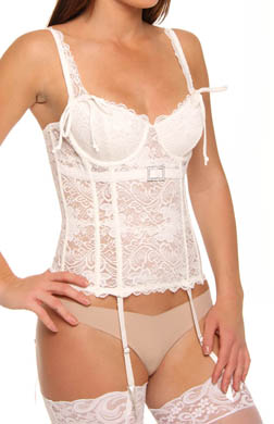 Rhonda Shear Ingenue Corset with Rhinestone Buckle