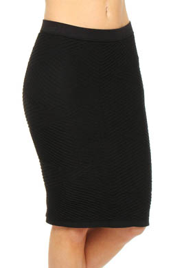 Rhonda Shear Ahh Menage a Trois Seamless Power Piece Skirt