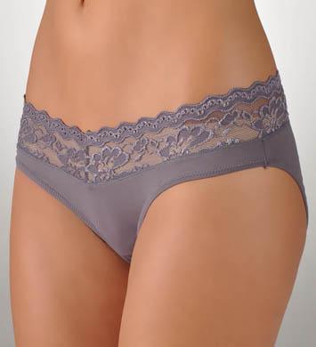 Rhonda Shear Sweet Cupcake Butterknit Lace Trim Panty