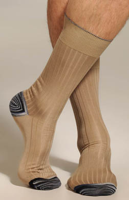 Robert Graham Ginger Sock