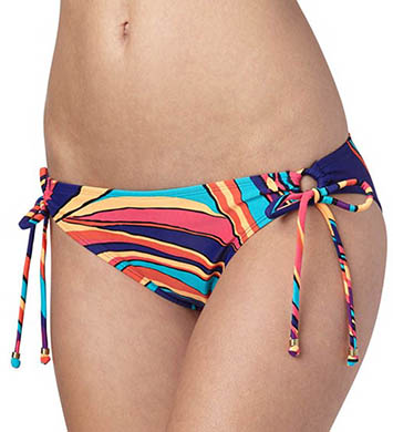 Roxy Brazilian Chic 70s Lowrider Tie Side Swim Bottom