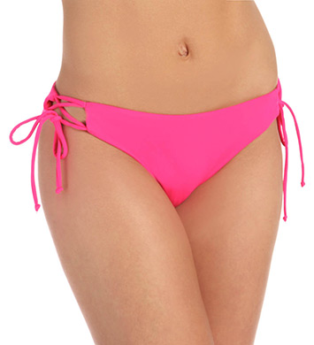 Roxy Fun & Flirty Lowrider Tie Side Swim Bottom