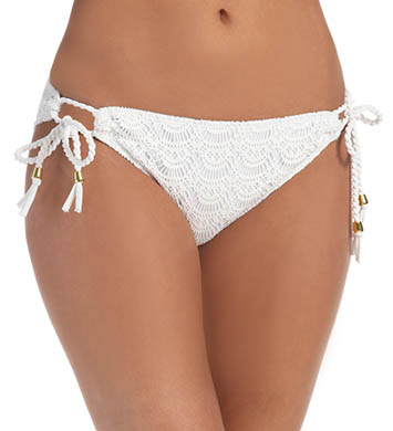 Roxy Gypsy Moon Crochet 70s Lowrider Swim Bottom