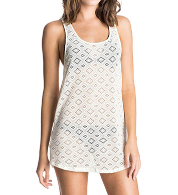 Roxy Hazy Daisy Crochet Sporty Coverup