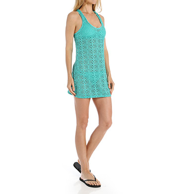 Roxy Lacy Days Diamond Tank Dress