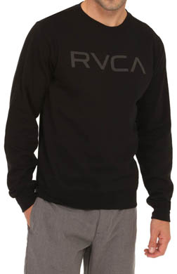 RVCA Big RVCA Crewneck Sweatshirt
