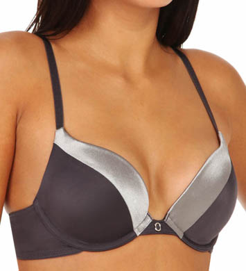 Self Expressions Push Up Bra with Satin