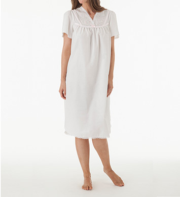 Shadowline Cotton Batiste Gown