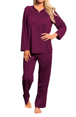 Shadowline Petals Long Sleeve Pajama