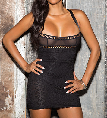 Shirley of Hollywood Sexy Body Shaping Chemise