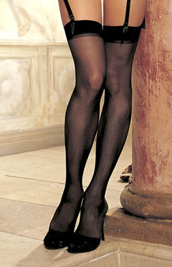Shirley of Hollywood Sheer Stretch Stocking