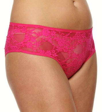 Shirley of Hollywood Plus Size Lace Open Front Panty