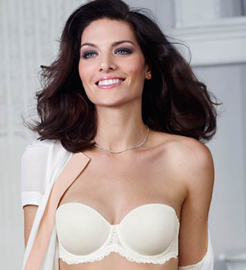 Simone Perele Caressence 3D Strapless Bra