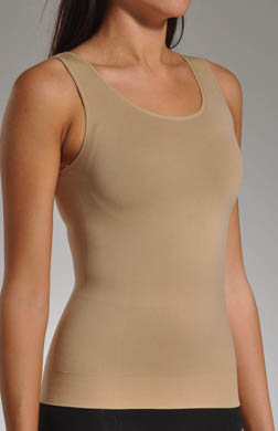 Skweez Couture by Jill Zarin Two Faced Reversible Seamless Scoop Neck Tank