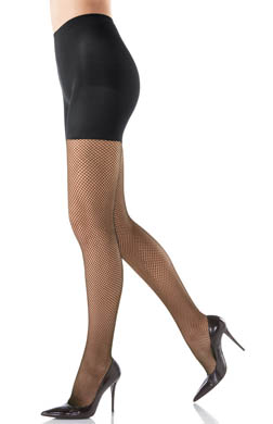 SPANX Control Top full Length Fishnet