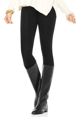 SPANX Look-At-Me High Waisted Cotton Leggings