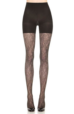 SPANX Uptown Tight-End Tights Look-At-Me Lace