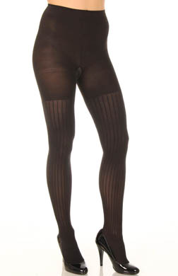 SPANX Patterned Tight End Tights Coil Stripe