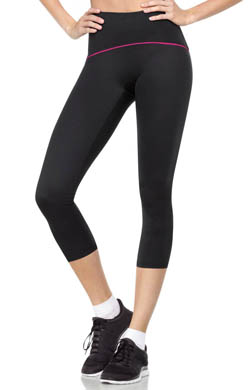 SPANX Shaping Compression Crop Pant with Color Band
