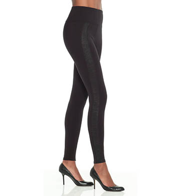SPANX Ready-to-Wow Snakeskin Stripe Leggings