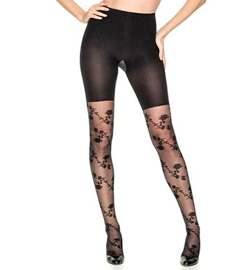 SPANX Tight End Stunning Roses Tights