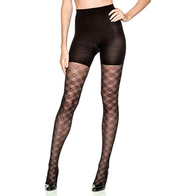SPANX Tight End Floral Check Tights