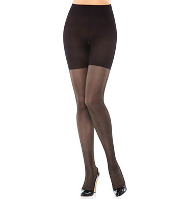 SPANX Patterned Body Shaping Lurex Tights