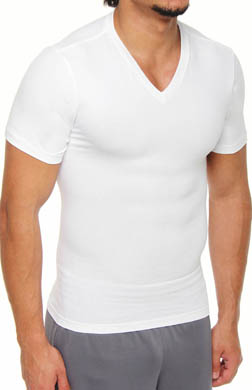 SPANX Easy Smoother V-Neck T-Shirt