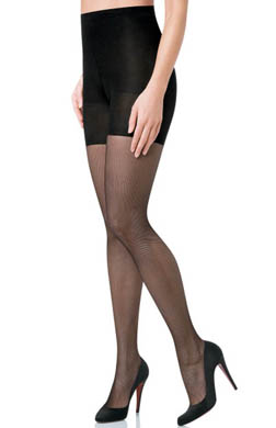 SPANX Uptown Tight-End Tights - Micro Fishnet