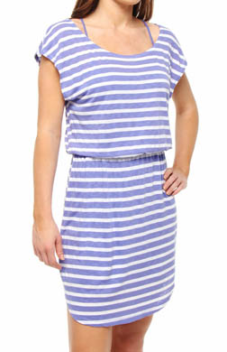 Splendid White Rugby Stripe Dress